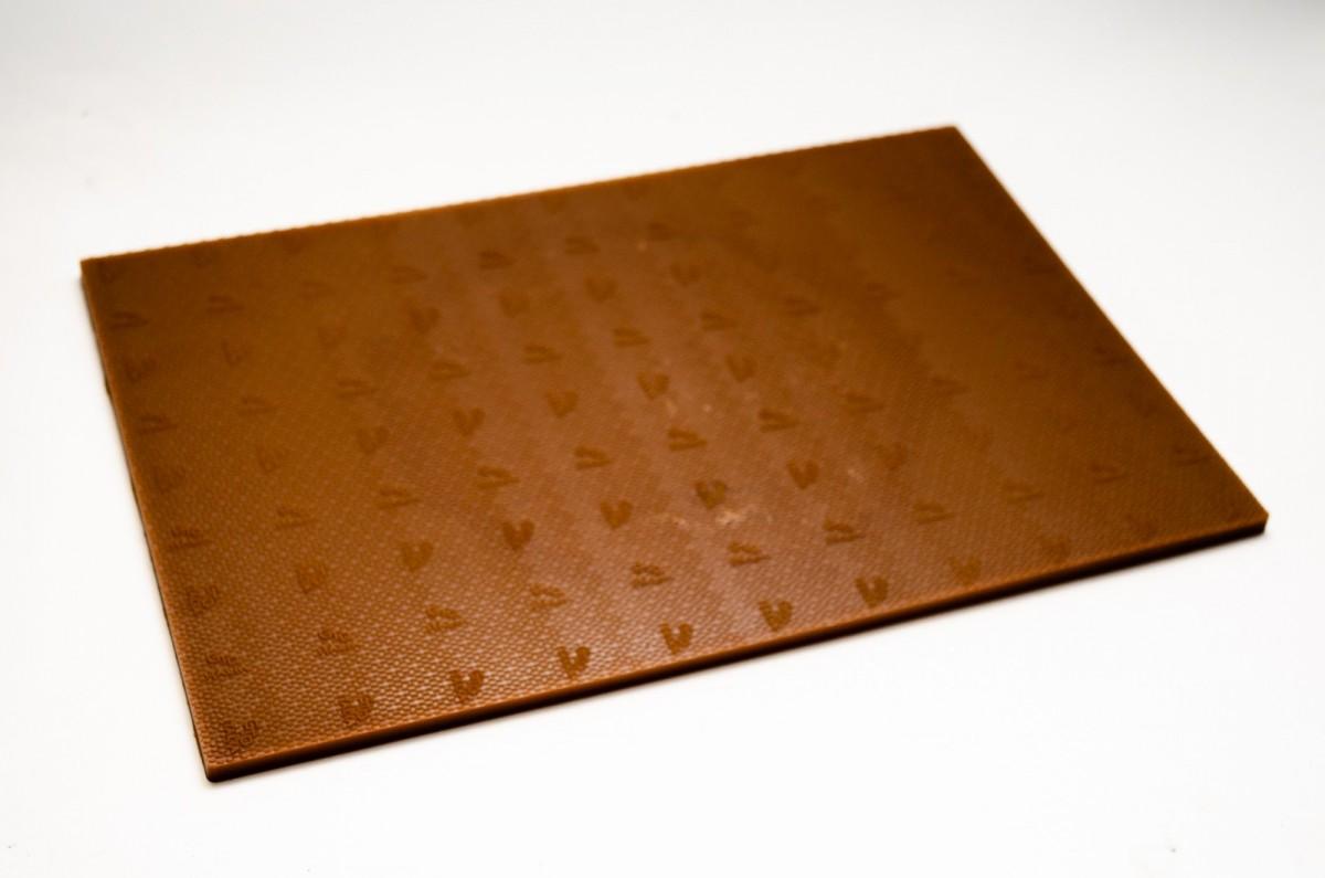 Полиуретан 100% BASF 290*150*6.5 мм карамель лист