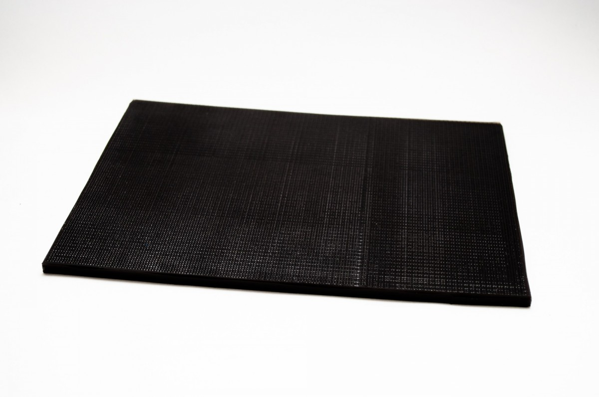 Полиуретан ВГ 260*180*3,0 черный лист