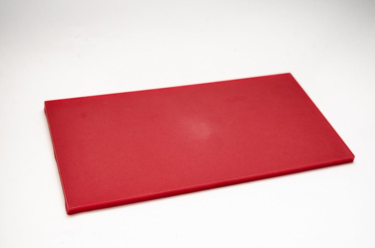 Полиуретан пластина092 197*227*5,3 красная лист