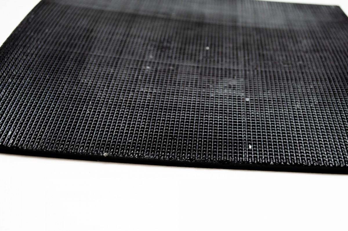 Полиуретан Россия  600*300*5,0 черный лист