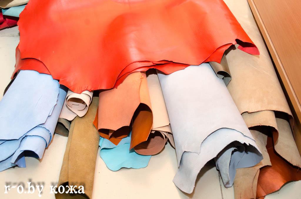 Натуральная кожа для обуви, одежды, ремесленных работ
