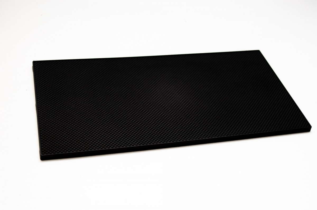 Полиуретан 100% BASF 290*150*6.5 мм крупн черный лист