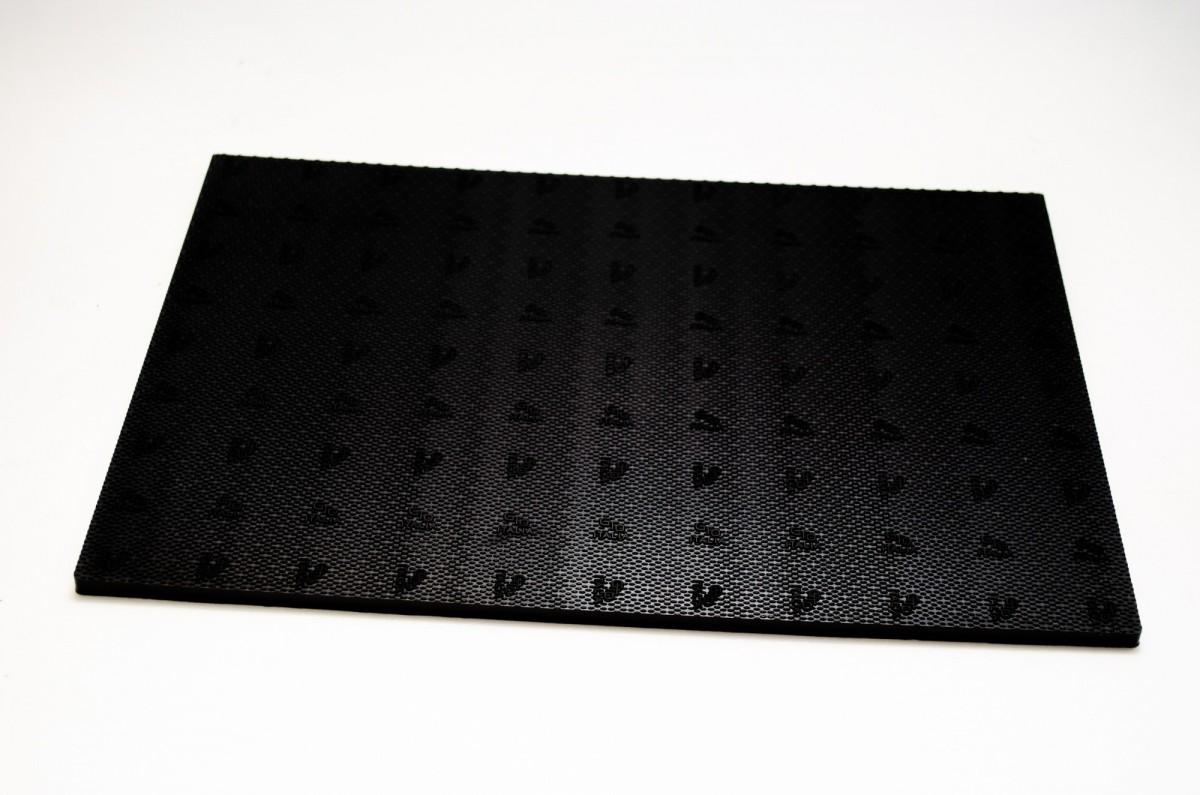 Полиуретан GTO 200*300*6.2мм черный МЯГКИЙ