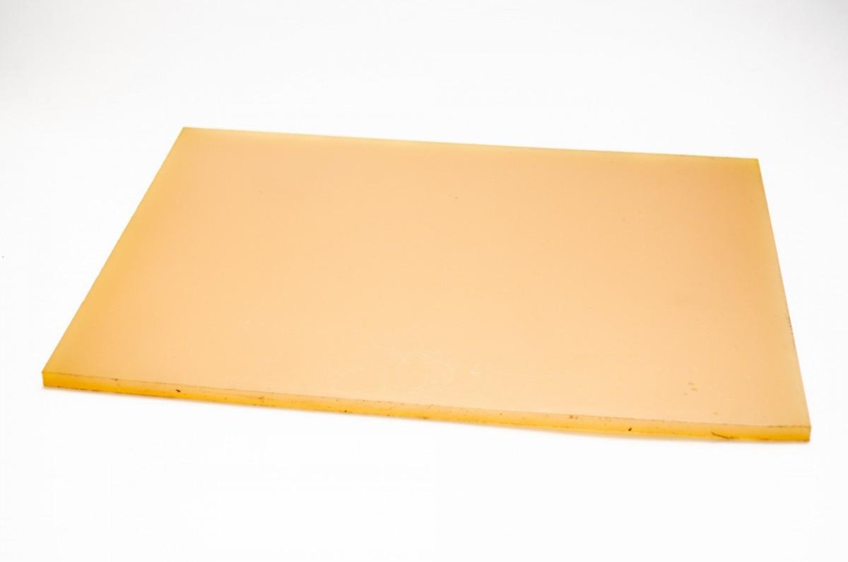 Полиуретан ПР 290*290*6,0 медовый лист