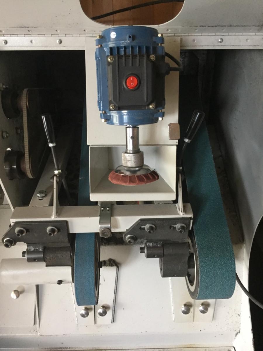 Машина шкуровочная + пресс для ремонта обуви